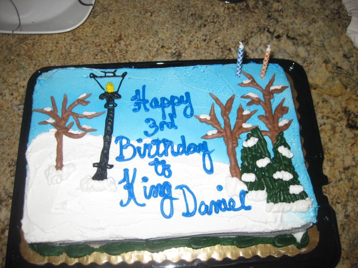 narnia cake  Birthday party ideas  Pinterest
