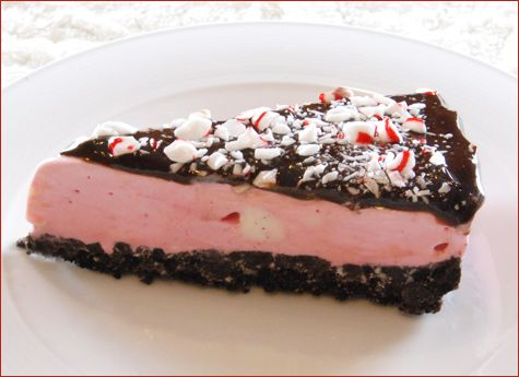 Peppermint Ice Cream Cake {SO GOOD