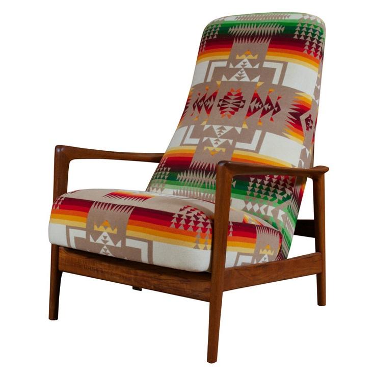 Danish Rocking Lounge Chair wares