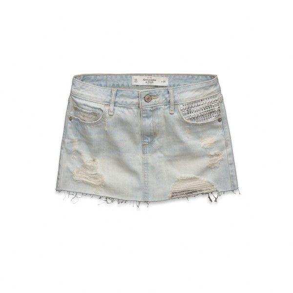 Brittany Denim Skirt Womens
