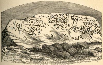 Viking Petroglyph in Rhode Island