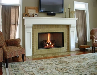 fireplace backsplash decorating our home pinterest