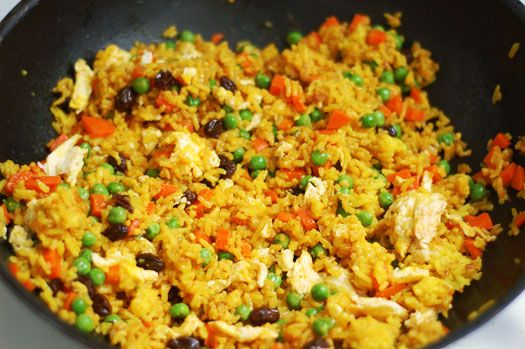 Coconut Fried Rice - Just the coconut rice part sounds really good ...