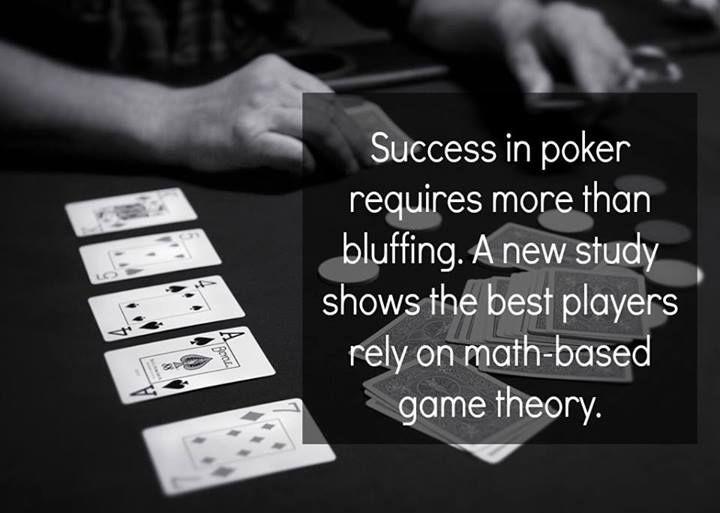 good poker face