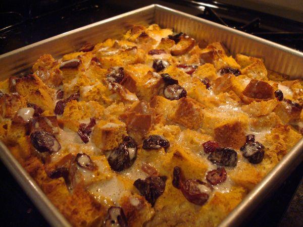 Pumpkin Bread Pudding with Spiced Glaze | fall decor | Pinterest