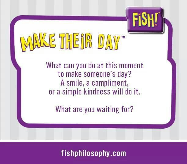 Fish philosophy wesharepics for Fish philosophy video