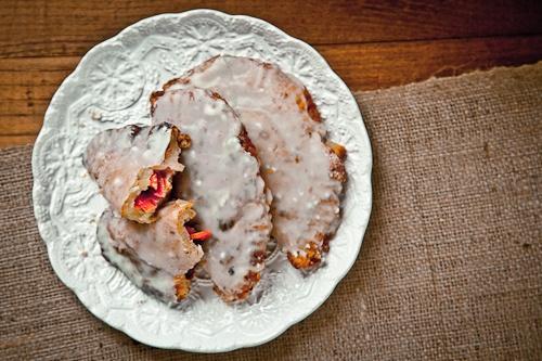 Blood Orange Strawberry Rosemary Crust Fry Pies with Buttermilk Glaze ...