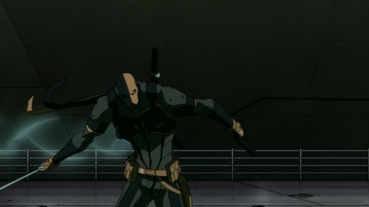 Justice league the flashpoint paradox deathstroke