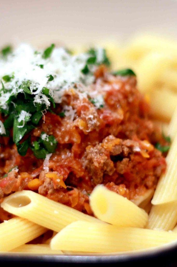 Ragu alla Bolognese (Bolognese Sauce) | Delicious Food | Pinterest