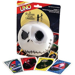 Nightmare Before Christmas UNO Game | Nightmare Before Christmas | Pi ...