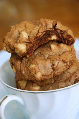 Chocolate Cappuccino Chip Cookies