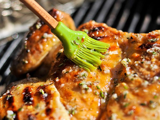 Grilled Chicken Under a Brick with Lemon, Garlic, and Rosemary | Reci ...