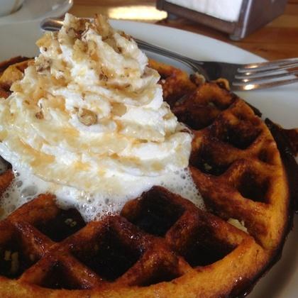 Sweet Potato Waffle @ Crema | Eating & indulging | Pinterest