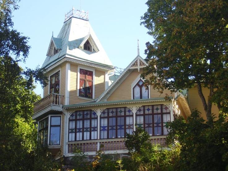 Villa Elfkullen Uddevalla Sweden Architecture