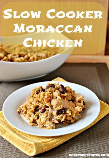 Slow Cooker Moroccan Chicken   Beauty Through Imperfection