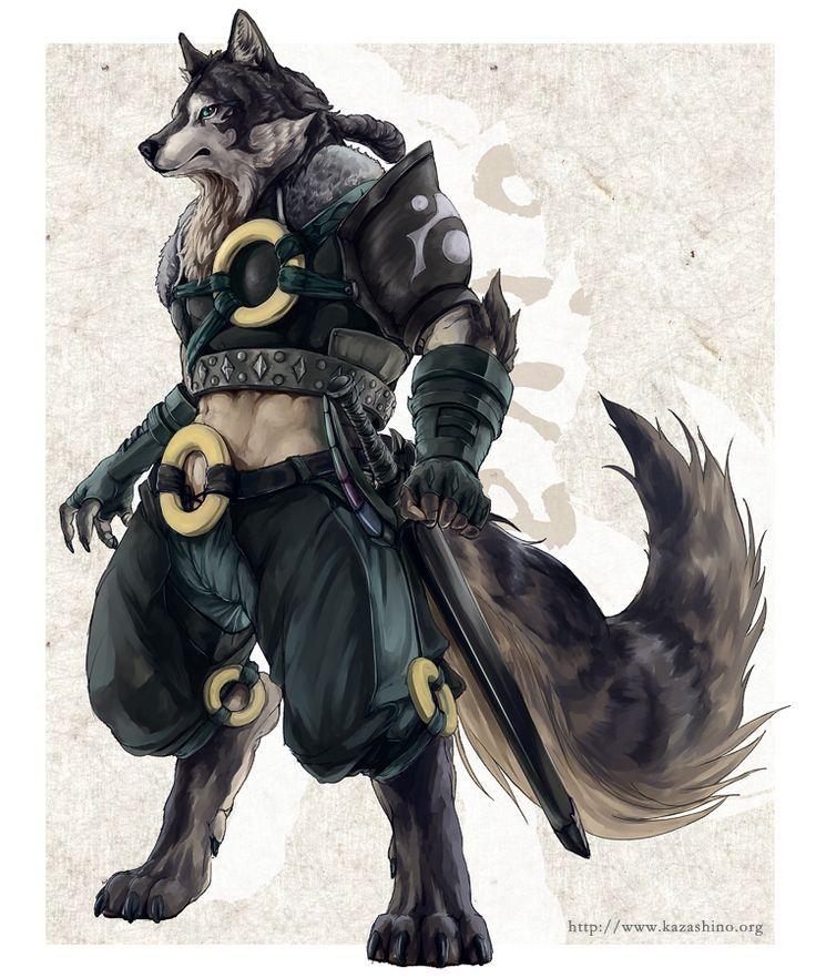 Werewolf warrior drawings