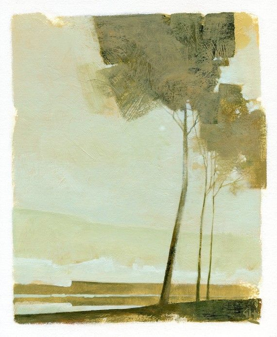 Three Trees by Hargreaves Art