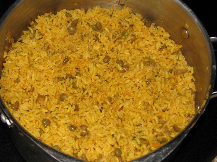 Arroz Con Grandules (Puerto Rican Rice) | Mmmmm good | Pinterest