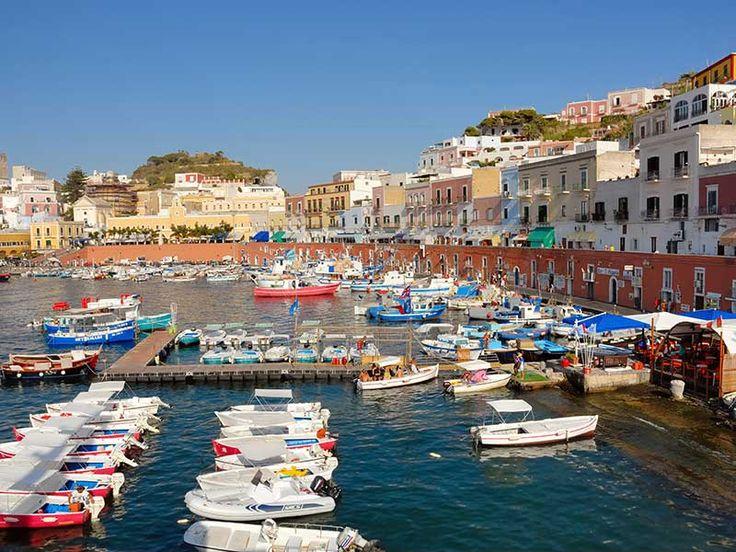 Isole Pontine Island Italy