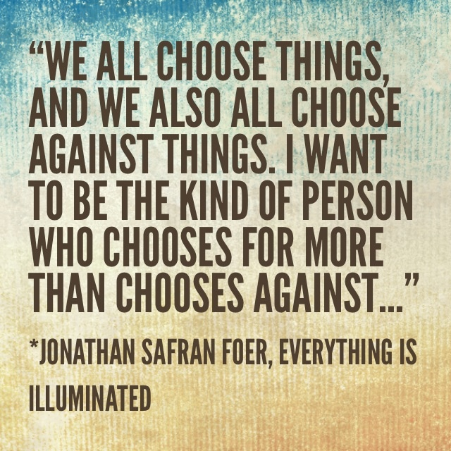 everything is illuminated quotes like success