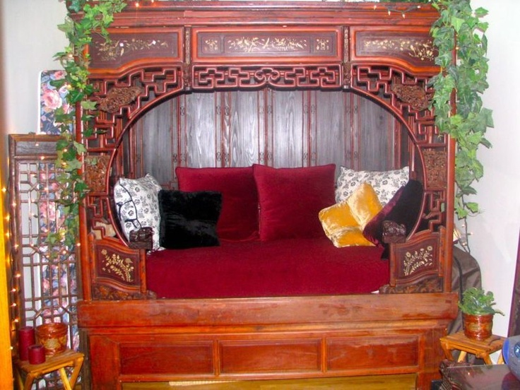 Pin by on montreal vintage furniture for Oriental furniture montreal