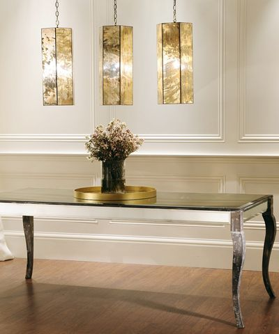 Antique mirror dining table beautiful kitchen and dining pinterest