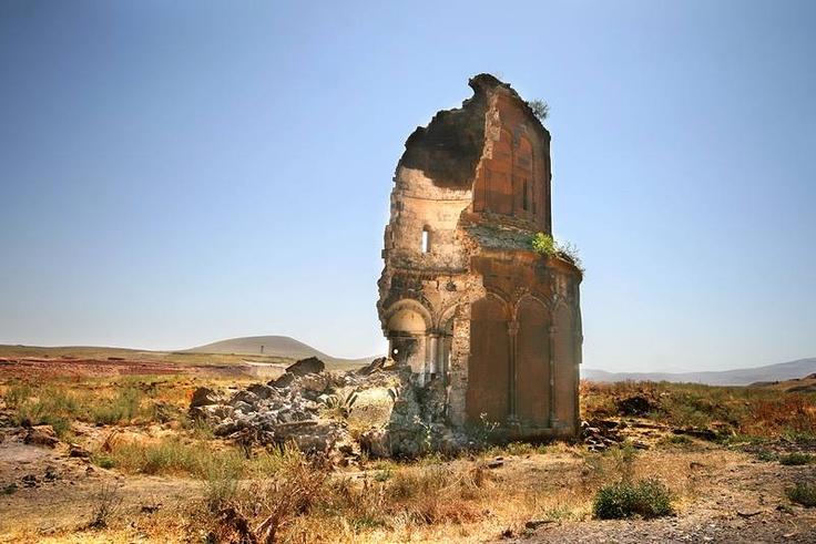 Ani ruins (Ani Harabeleri). Kars, Anatolia.  Turkey ...