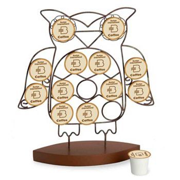 October Hill Owl Single-Serve Coffee Holder