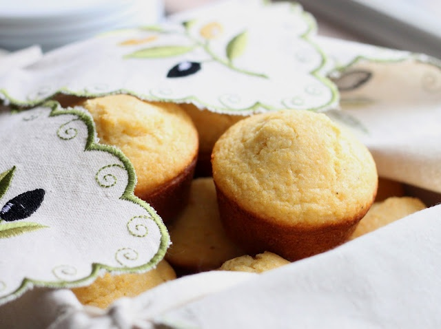 Honey Cornbread Muffins with maple butter recipe