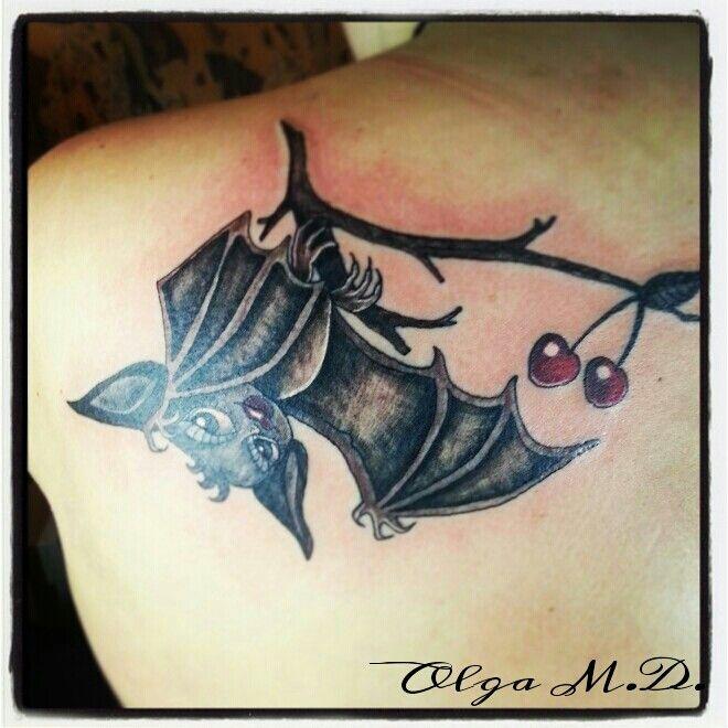 New School Bat Tattoo Tattoos Pinterest