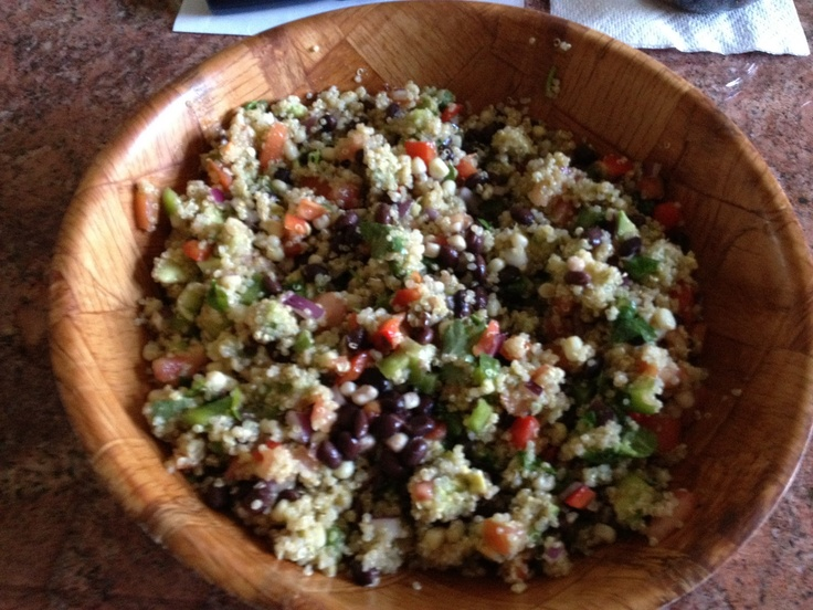 Southwest Quinoa Salad | Healthy/clean eating | Pinterest