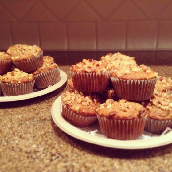 Whole Grain Pear-Hazelnut-Oat Muffins from Whole Grain Mornings