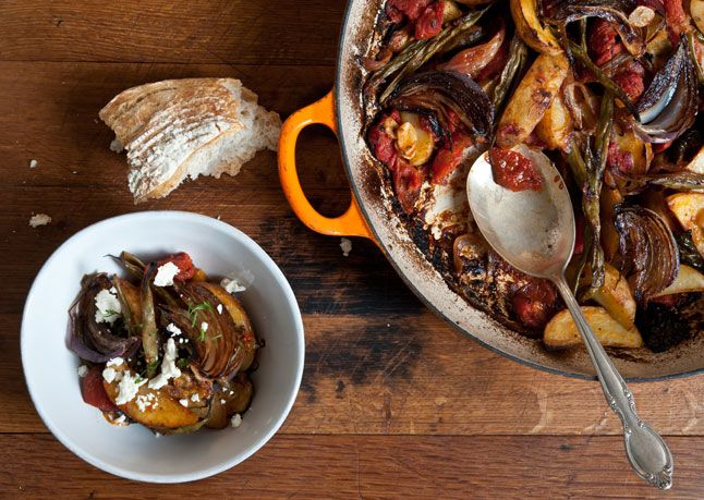 Greek-Style Roasted Vegetable Casserole. The ultimate 'set it and ...
