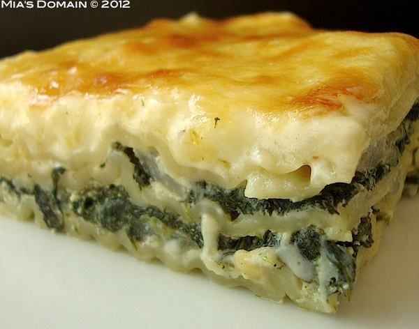 White Spinach Lasagna | The Main Event | Pinterest