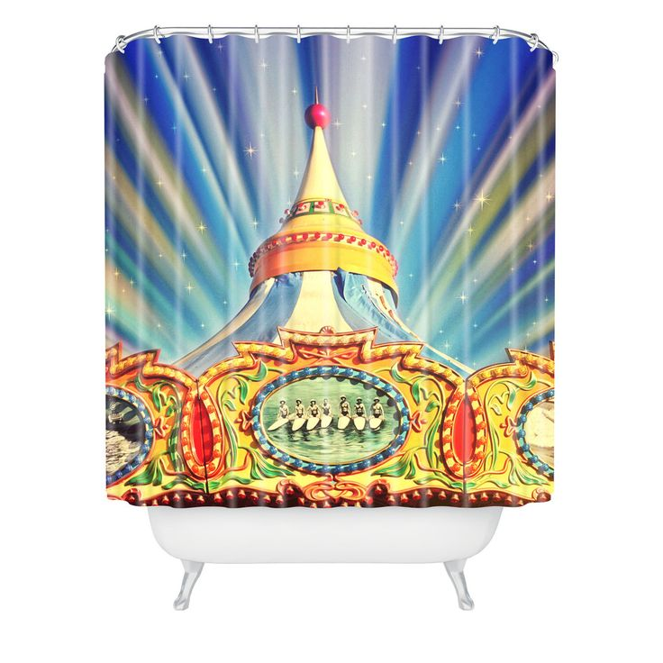 Shannon Clark Carnival Cosmic Shower Curtain – DENY Designs
