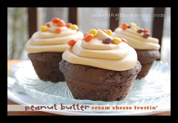 Cooking Bookworm: Peanut Butter Cream Cheese Frosting (This was ...