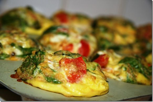 Scrambled Egg Muffins they freeze well. can sub whole wheat flour ...
