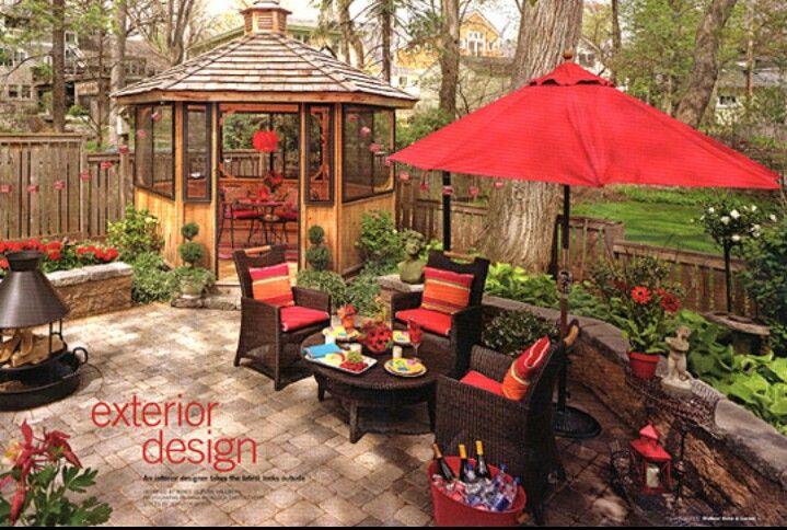 Beautiful Backyard Backyard Bliss Pinterest