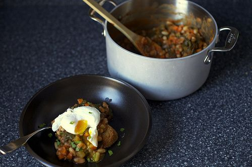 Chard and White Bean Stew. I LOVE this recipe. So flipping good! Hardy ...