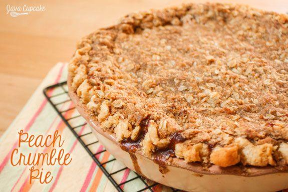 Peach Crumble Pie PrintPrint SaveSave Yield: 2 Pies Ingredients: Pie ...