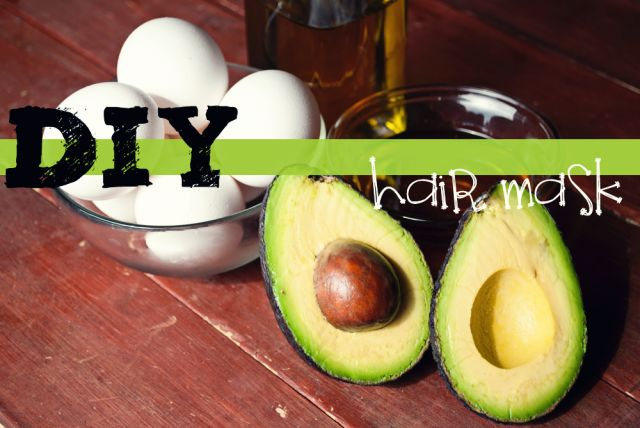 DIY Hair Mask Treatment the blog say, avocados, egg yolks, honey & oil ...