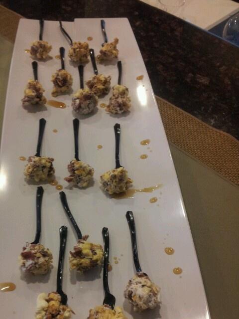 Maple popcorn lollipop | remember it | Pinterest