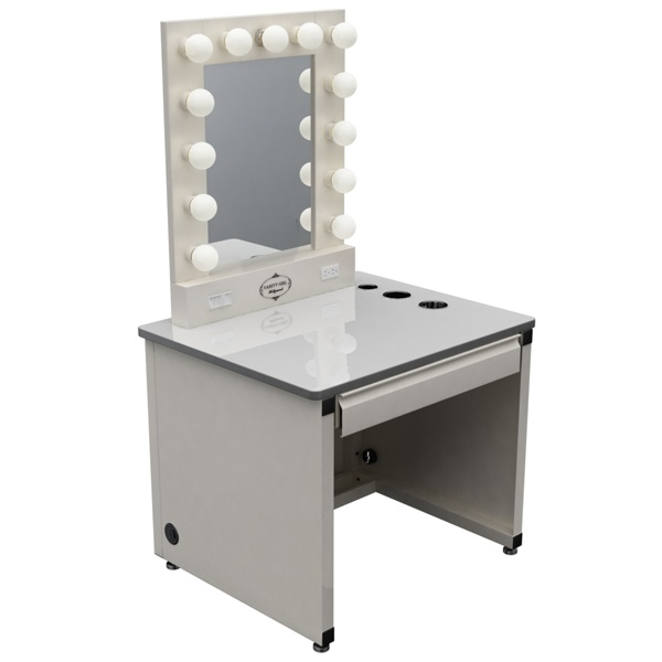 Broadway lighted vanity makeup desk ? Furniture & Accessories ? P?