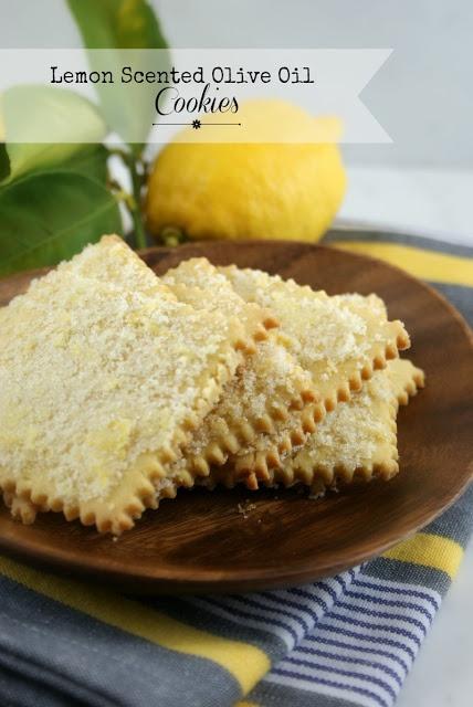 Lemon Scented Olive Oil Cookies | Lemon Recipes | Pinterest
