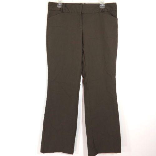 Beautiful Kasper Brown Mink Women39s Size 12P Petite Crepe Ankle Dress Pants View
