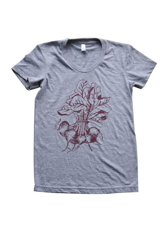 Women's Beets T shirt by EMaryniak on Etsy, $25.00