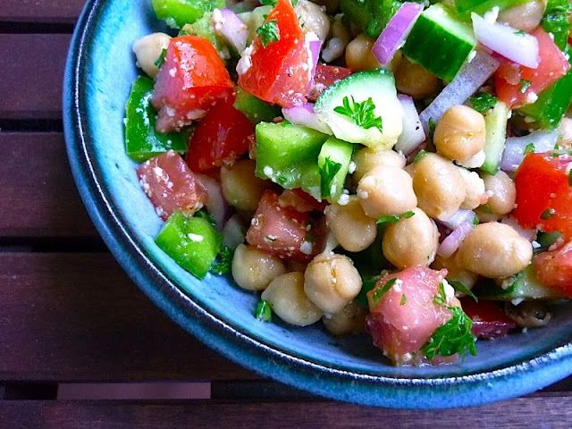 Moroccan Chickpea Barley Salad Recipes — Dishmaps