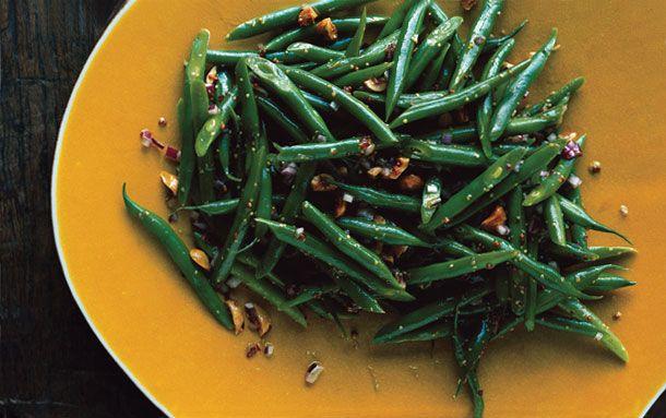 Green Bean and Hazelnut Salad: gourmet.com