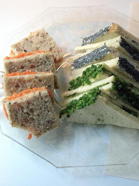 ... Cucumber-Coriander Chutney Tea Sandwiches | TEA Sandwiches | Pinterest