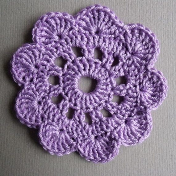 Crochet Snowdrop Flower Pattern Tutorial : tutorial crochet flower CROCHET Pinterest